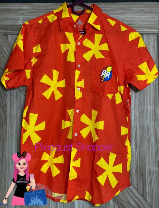 Disney Chip and Dale Rescue Rangers Woven Button Shirt