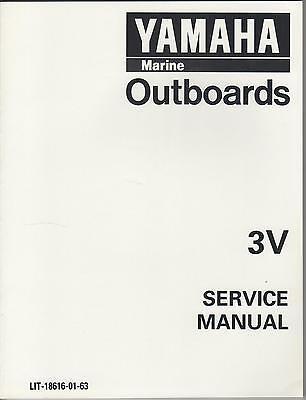 1996 YAMAHA MARINE OUTBOARD 3V SERVICE MANUAL  (741)
