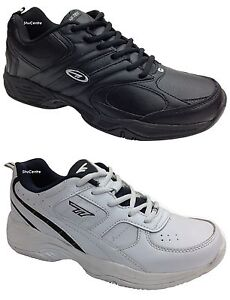 New-Mens-Hi-Tec-Argon-Coated-Leather-Casual-Gym-Sports-Trainers-Size-6-16-UK