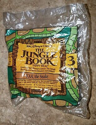 1989 McDonald's Happy Meal Toy Disney's The Jungle Book KAA the Snake Wind-up #3, used for sale  Maricopa