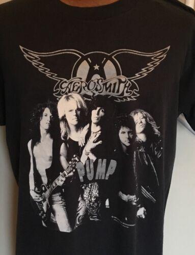 Original 1980's Aerosmith Pump Concert T-shirt (XL) Screen Stars Best 50/50 GEM!