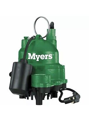 Myers Mdc33p1 - 13 Hp Cast Iron Sump Pump W Tether Float Switch