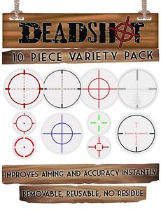 DEADSHOT (Large) Screen Target Crosshair PS4 Xbox PC Battlefield 5 Call Of Duty