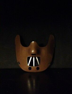 Silence of the Lambs Hannibal Lecter Mask Halloween Costume - Hannibal Mask