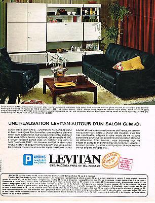 PUBLICITE  1967   LEVITAN   meubles de salon