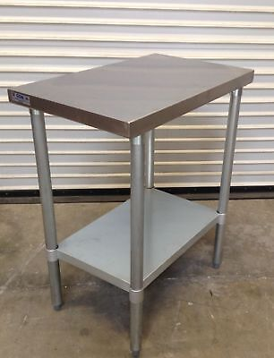 New 30x12 Stainless Steel Work Table Nsf 2080 Commercial Restaurant Food Prep