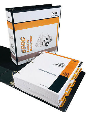 Case 580c Backhoe Loader Service Manual Repair Shop Book Tractorfull Overhaul