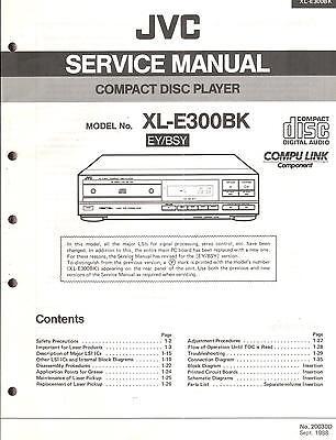 JVC Original Service Manual für XL-E 300