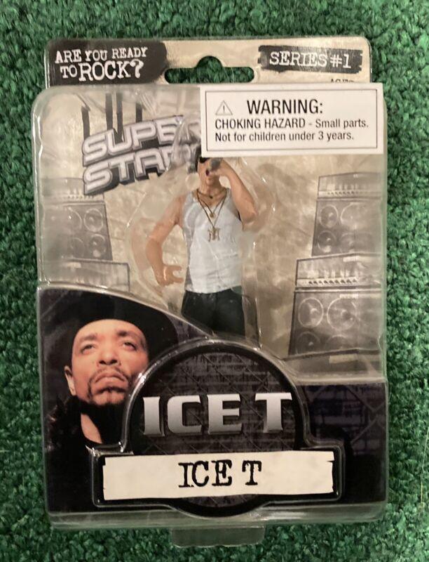 Ice-T Figure 2009 Rap Super Stars Series 1 Rare Complete Sealed
