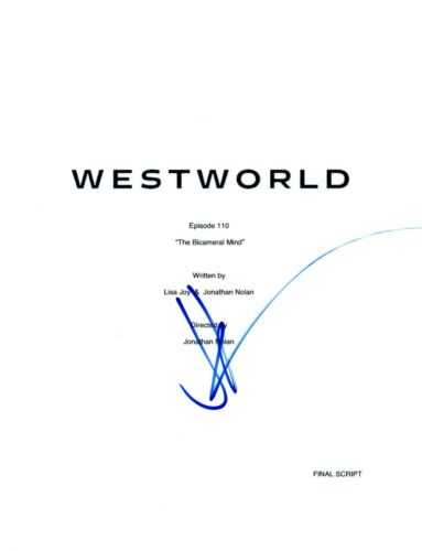JJ Abrams J.J. Signed Autograph WESTWORLD The Bicameral Mind Episode Script COA