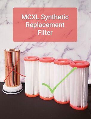 Cerec Mcxl Synthetic Filter New Generation Last 20x Longer Qty 4