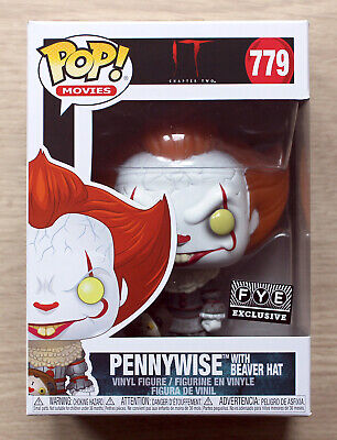 Movie IT Chapter 2 Pennywise with beaver hat 779  Limited IN STOCK! Funko POP