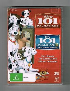 101 Dalmatians / 101 Dalmatians 2 - Patch's London Adventure Dvds New & Sealed