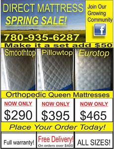 Spring Blowout on Wholesale Mattresses