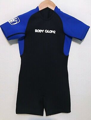 Body Glove Childs Spring Shorty Wetsuit Size C4 Kids 4 - Excellent Condition! Body Glove Kids Wetsuit
