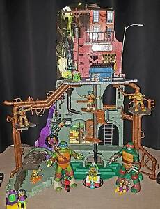 ** TMNT SEWERS LAIR PLAYSET ** Success Cockburn Area Preview