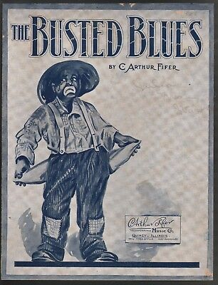 Busted Blues 1919 Sheet Music