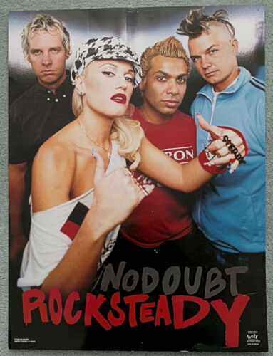 No Doubt Rock Steady Album Promo Poster-Funky Enterprises-Well Worn-Very Cool