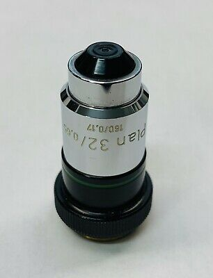 Zeiss Plan 32x0.65 Microscope Objective 160mm - Scarce