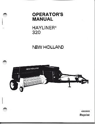 New Holland Hayliner 310 Square Baler Operator Manual 42031012