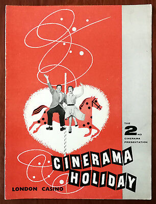 Cinerama Holiday, The 2nd Cinerama Presentation, London Casino Film book 1955