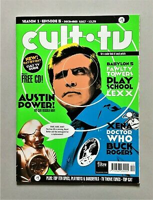 Cult TV December 1997 issue...great UK mag w/ Babylon 5, Lexx, Xena, Doctor Who! comprar usado  Enviando para Brazil
