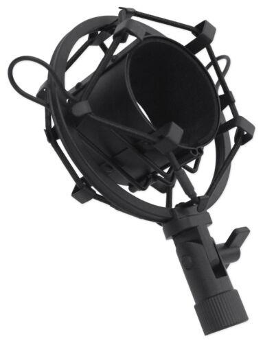 Rockville RCM02 Pro Studio Recording Condenser Microphone Mic+Shock Mount+Shield