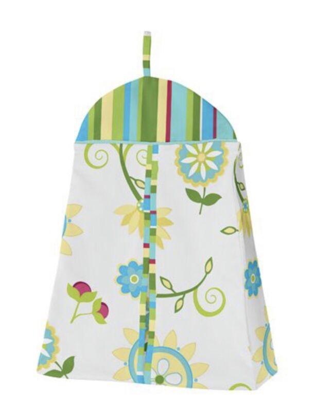 Layla Diaper Stacker Jojo Designs Boutique Baby Girl Nursery Toy Holder 2 Pc Set