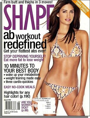 Shape - 2002, August - Ab Workout Redefined, 10 Minutes to Your Best