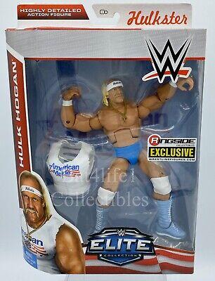 WWE Mattel Elite HULK HOGAN Ringside Collectibles USA Exclusive WCW nWo New!!!