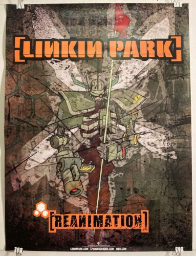 LINKIN PARK Reanimation 2002 RARE 18x24 PROMO poster EXC VG COND/NEVER DISPLAYED