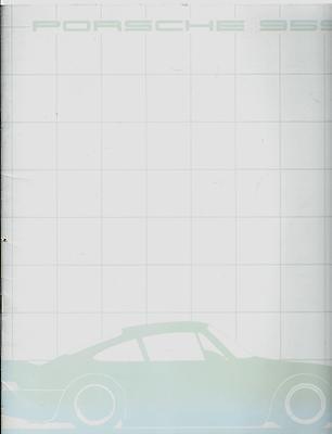 Porsche 959 Prospekt, Mai 1984