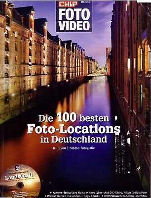 Chip 8 2012 Die 100 Besten Foto Locations mit Landschaft CD Städte Trip Hamburg