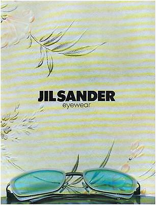 ▬► PUBLICITE ADVERTISING AD Lunettes Eyewear JIL SANDER 1996
