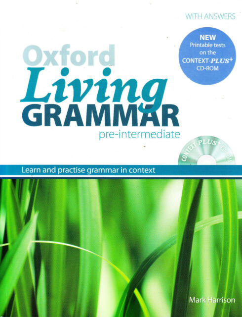 OXFORD LIVING GRAMMAR PRE-INTERMEDIATE Book w Answers & CONTEXT-PLUS CD-ROM New
