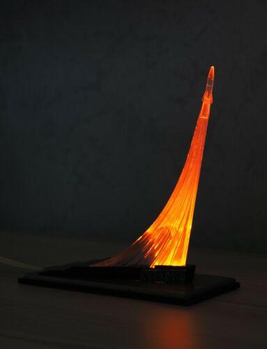 ☄ USSR Original SPACE Night LAMP ROCKET SPUTNIK Satellite Gagarin Soviet Russian