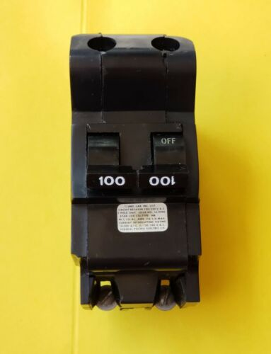 Federal Pacific Electric 100A 2P Circuit Breaker 100 Amp 2 Pole Bolt On