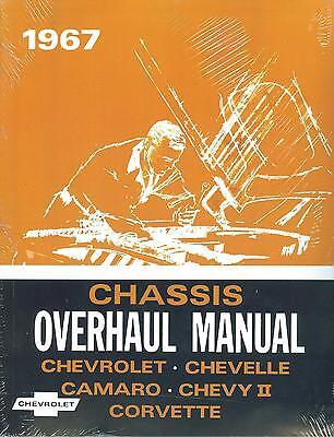 1967   CAMARO/SS/Z28  CHEVELLE/SS  OVERHAUL  MANUAL
