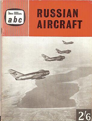 "IAN ALLAN ABC ""RUSSIAN AIRCRAFT"" JOHN W.R.TAYLOR,MARCH 1960"