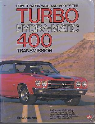 GMC TURBO HYDRA-MATIC 375 400 475 AUTOMATIC TRANSMISSION OVERHAUL MANUAL