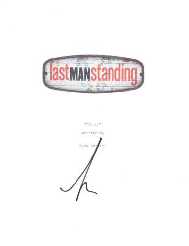 Tim Allen Signed Autographed LAST MAN STANDING Pilot Episode Script COA