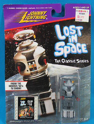 1998 Johnny Lightning Lost In Space Classic Series Robot B-9 NEW ON CARD