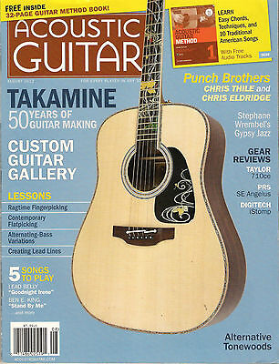 ACOUSTIC GUITAR August 2012 Goodnight Irene TAB Free METHOD BOOK Learn Chords So