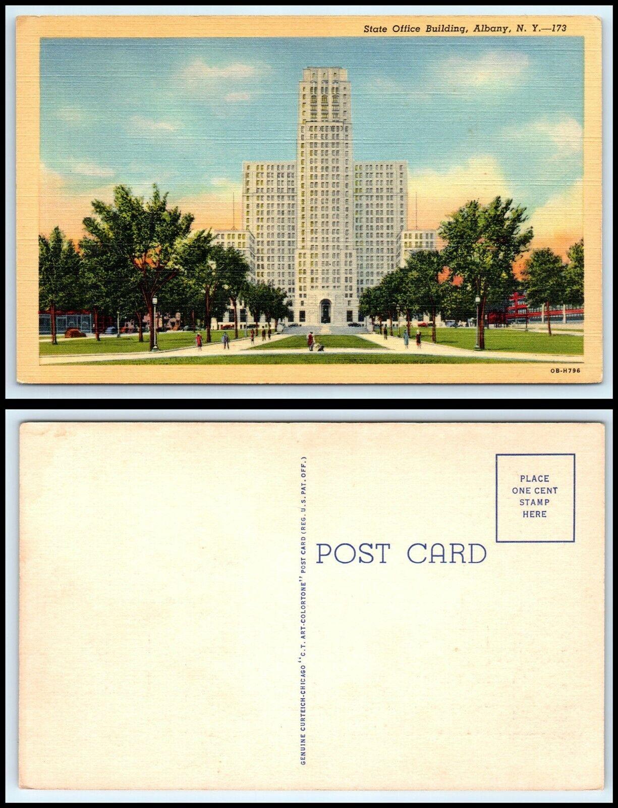 NEW YORK Postcard - Albany, State Office Buildings N4   eBay
