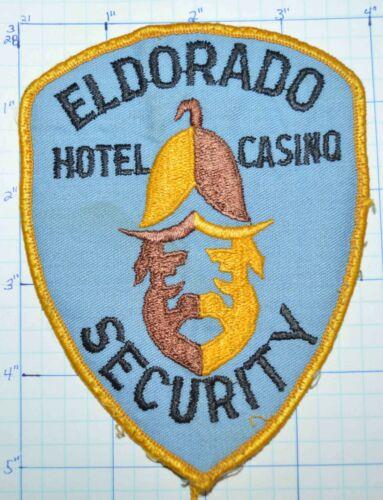 NEVADA? ELDORADO HOTEL CASINO SECURITY POLICE VINTAGE PATCH