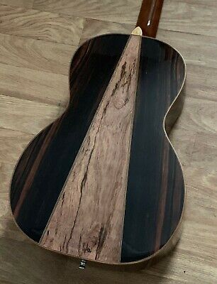 Amazing Looks and Tone! Acoustic Parlour Guitar Amara/Spalted Mango back RRP£349