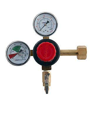 Taprite Co2 Carbon Dioxide Dual Gauge Regulator -homebrew Kegerator -ships Free
