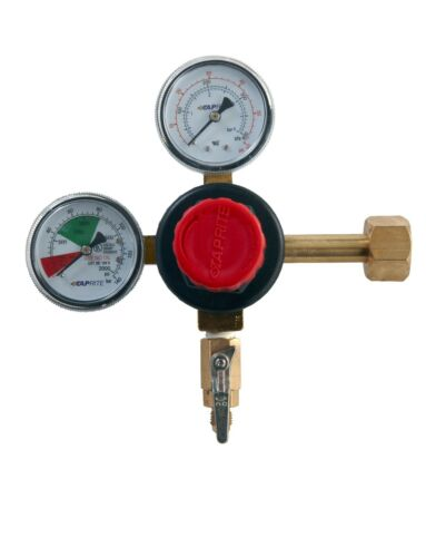 Taprite CO2 Carbon Dioxide Dual Gauge Regulator Home Brew Kegerator - Ships Free