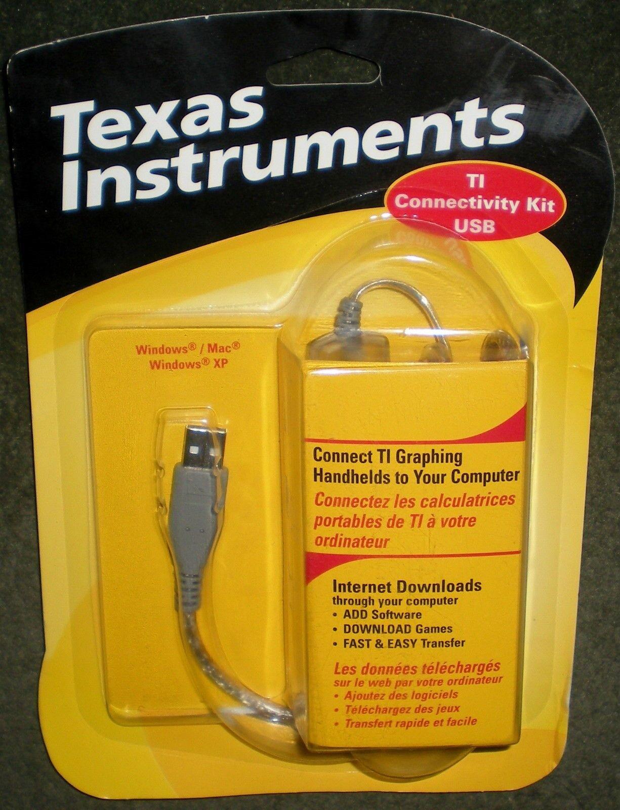 Calculator Ti Texas Instruments Usb Graph Link Ti 83 85 8...