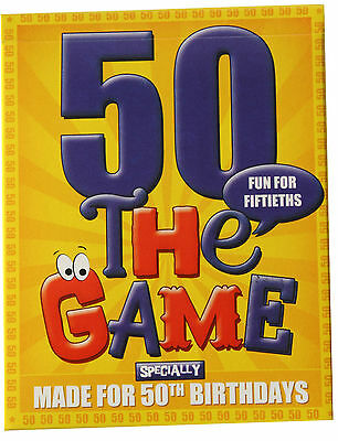 50th Birthday Games (50th Birthday Gift Idea - a card game especially for 50ths! Plus 50th gift)